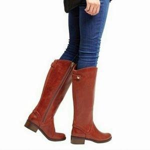 Merona Cognac Bonnie Boots